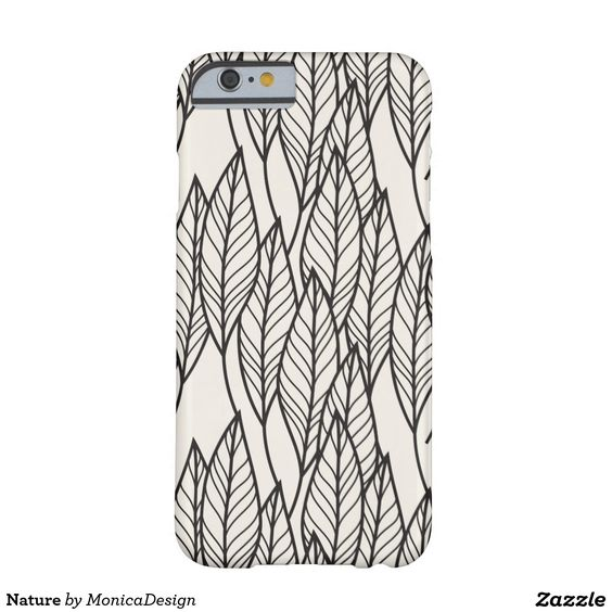 Nature Funda Para iPhone 6 Barely There