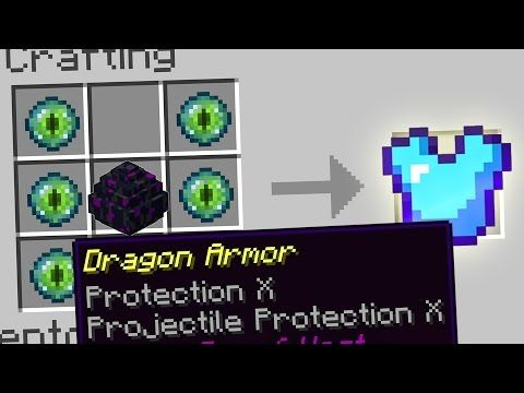 Pin On Minecraft Tips How to craft dragon armor in minecraft! pin on minecraft tips