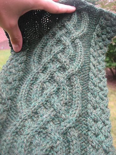 Ravelry: Celtic Cable Scarf pattern by Vanessa Lewis