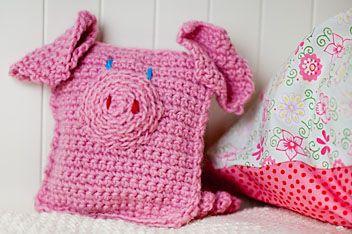 Freie Anleitung: Rosalie das Kuschelschwein (bebildert und auch für Kinder geeignet)