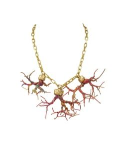 Three Rhizome Necklace by Gabriela Moya
