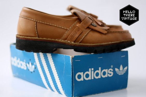 Vintage Adidas Korsika Leisure Shoes // For sale at HiThereVintage Follow them on facebook at http://facebook.com/HelloThereVintage