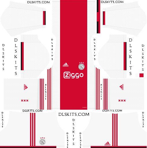 Afc Ajax 2019 2020 Dream League Soccer Kits Logos