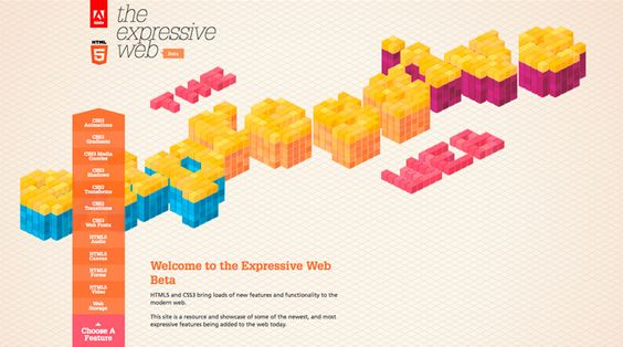 Site of the day 2 May 2012  http://beta.theexpressiveweb.com/  The Expressive Web
