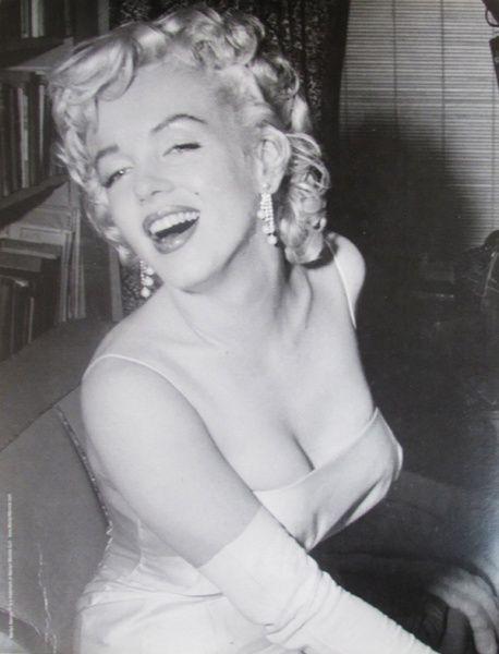 Fotografia - Marilyn Monroe - encarte da filmografia Folha de S.Paulo - 30 X 23 cm