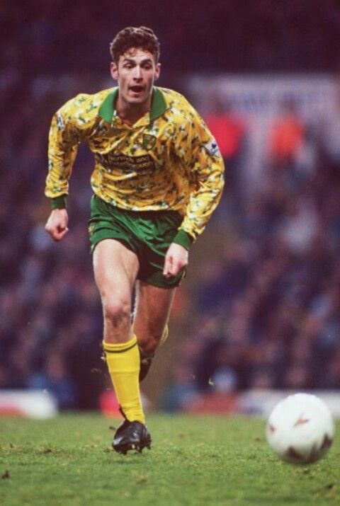 Chris Sutton of Norwich City in 1993.