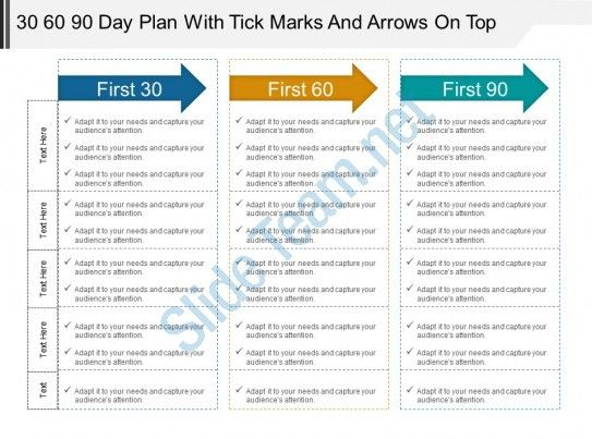 Check Out This Amazing Template To Make Your Presentations Look Awesome At 100 Day Plan 90 Day Plan Day Plan