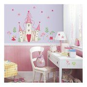 Room Mates Princess Castle Giant Peel and Stick Mural