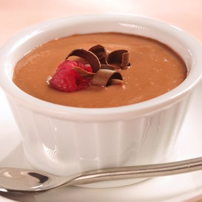 Chilled Chocolate Raspberry Soup