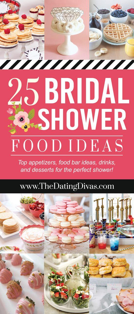 Best 25 Bridal Shower Appetizers Ideas On Pinterest