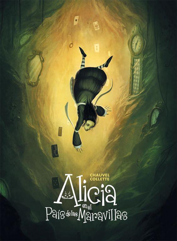 Alicia en el pais de las maravillas. #Cover #Portada #Literatura: