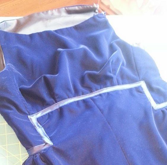 tips machine embroidery on velvet