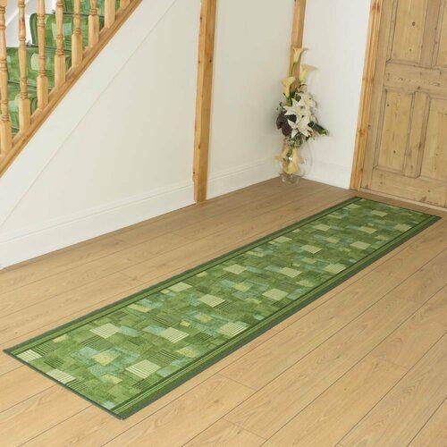 Classicliving Bainsbury Looped Hooked Green Hallway Runner Rug In 2020 Outdoor Carpet Indoor Outdoor Carpet Indoor Outdoor Rugs