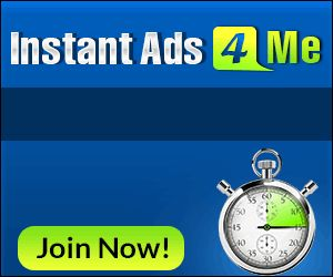 Instant Ads 4 Me! Free Advertising | PS Clicks | Free Web Traffic