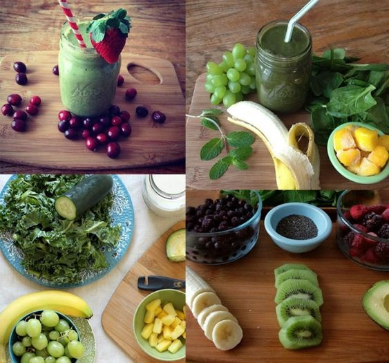 Pós carnaval – Sete receitas de suco verde