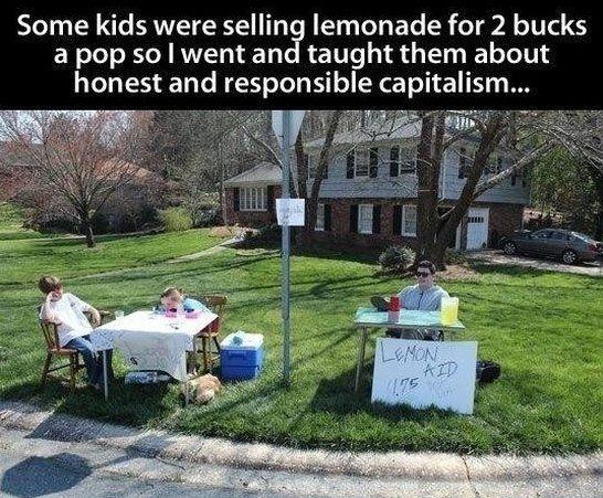 Funny Memes For Jerks : Funny memes about jerks capitalism at work joke