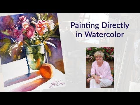 7452 Painting Directly In Watercolor Youtube Watercolor