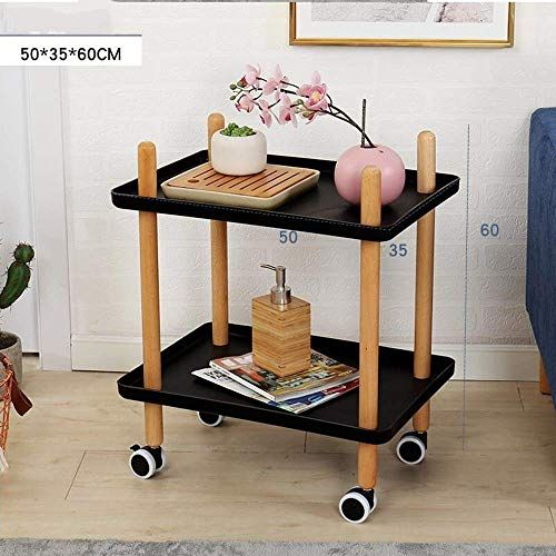 Sed Multifunction Small Table Household Sofa Side With Wheels Tray End Living Room 2 Tier Nightstand Utility Rol Small Tables Simple Bedroom Small Coffee Table