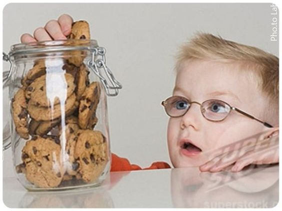 Delayed Gratification (DG) is a skill that is related to countless behavior problems. Teach kids DG anytime they ask for something that can be multiplied (cookies, time). Can I? Sure! You can have x now or 2x later. How much later? You decide! 10 seconds? Sure! Set the timer and reward with 2x. In time, offer playful distractions and support to increase the duration they choose to wait.