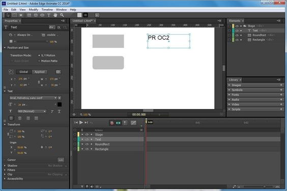 Adobe Animate Screenshots