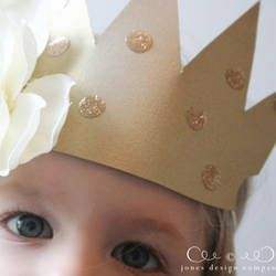 20 DIY Crowns and Tiaras - Perfect for New Year's Eve! - Happiness is Homemade