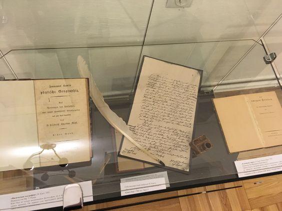 Книги и рукописи Иммануила Канта. Фото: Vladimir Shveda
