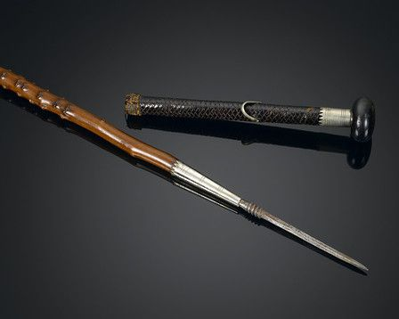This Traditional Basque Walking Stick Is Known As A Makila