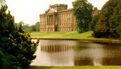 "Lyme Park!  ""I don't think I've ever seen a place so happily situated."" Pemberley of the BBC miniseries.  SWOON!"