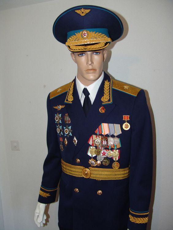 Soviet Air Force Major-General's full ceremonial parade ...