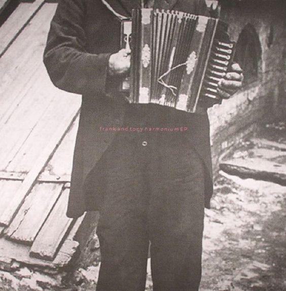 The artwork for the vinyl release of: Frank and Tony - Harmonium EP (Scissor and Thread) #music House