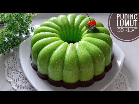 Puding Lumut Coklat Youtube Puding Coklat Aneka Kue