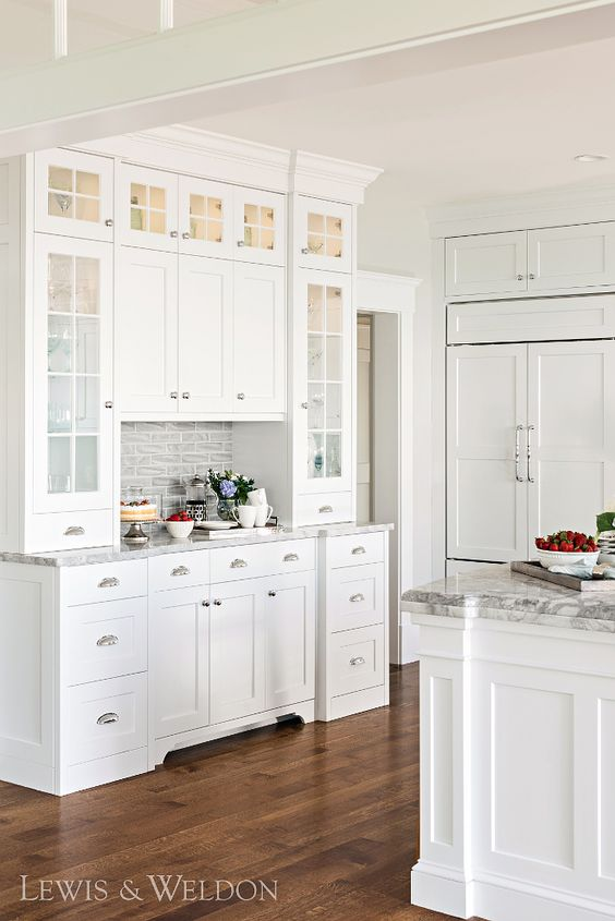 Follow The Yellow Brick Home Dreamy Kitchen Built Ins Butler S Pantries China Cabinets And Hutches Follow The Yellow Brick Home