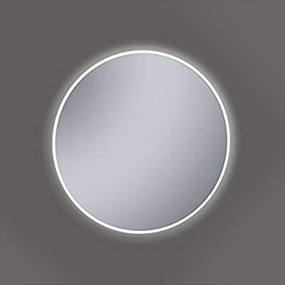 Specchio Bagno 60 X 60.Kristaled Saser Led 60 Cm O Specchio Da Bagno Con Luce Vetro