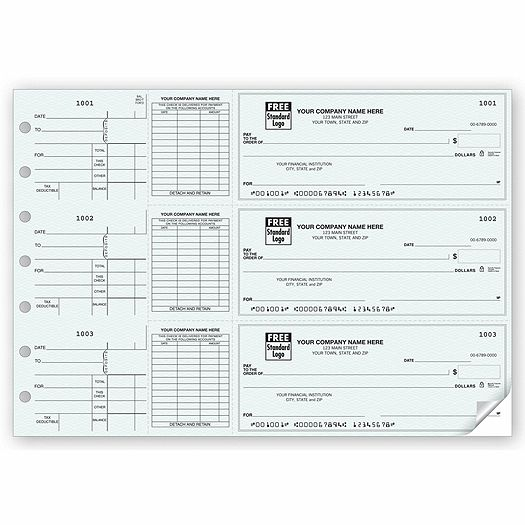 Free Fillable Blank Pay Stubs On-A-Page End-Stub Voucher Check - free payslip template south africa