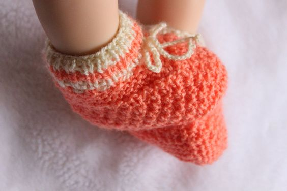 Kostenlose Strickanleitung für Babyschuhe