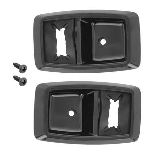 Mustang Inner Door Handle Bezel Kit Black 79 93 Lmr Replace Your Cracked And Broken Inner Door Handle Bezels On Your 1979 1993 Fox In 2020 Mustang Griff Schwarz