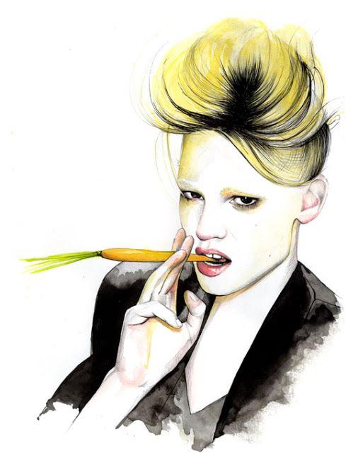 I LOVE ILLUSTRATION: Caroline Andrieu