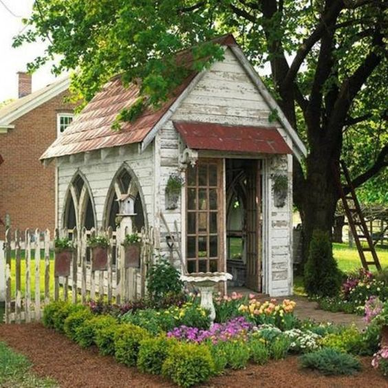 Pinterest Garden Sheds: How To Decorating Garden Shed
