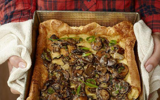 ... Showstopper Entrée For Any Brunch | Brunch, Popover Pan and Mushrooms