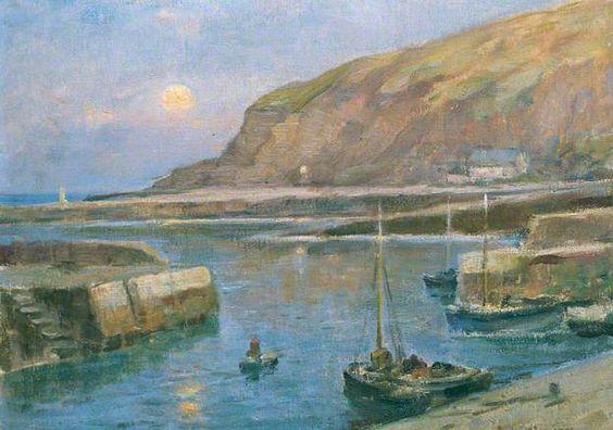 Bowen, Owen, (1873-1967), Mevagissey, Cornwall, Oil