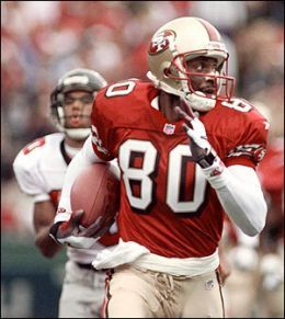 Jerry Rice- Greatest...Wide Receiver....of....all....time!