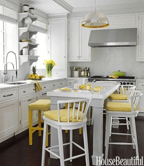 How To Make Mustard Yellow In Your Small Kitchen Decor Small Kitchen Decor Yellow Kitchen Accents Yellow Kitchen