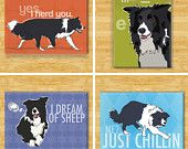 PopDoggie magnets.  Awwww -- border collies are awesome.