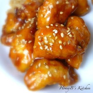 The Life & Loves of Grumpy's Honeybunch: Honey Sesame Chicken