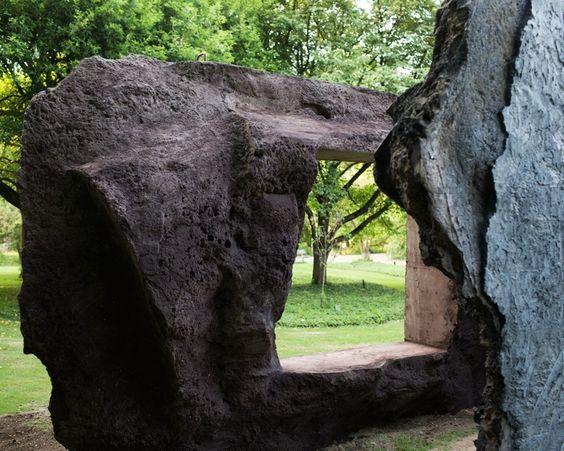 anne holtrop studio / pavilion batara arboretum belmonte, wageningen