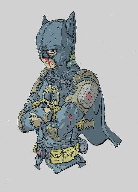 大友克洋による「バットマン」)