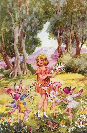Fairy Playdate Greeting Card