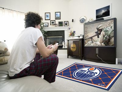 4x6 Area Rug - Edmonton Oilers