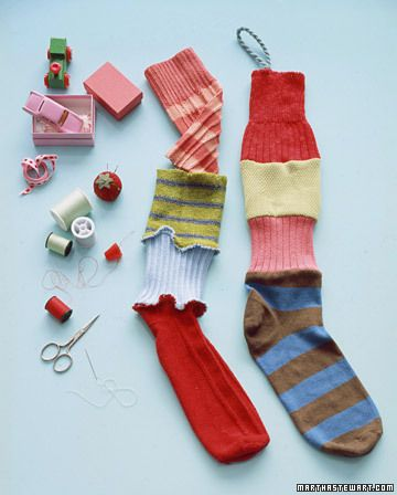 Add-a-Sock Stocking - Martha Stewart Holiday: