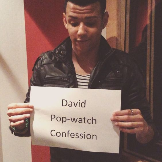 David from the group Four has confessed to loving this cursed TV series. #popwatchconfession